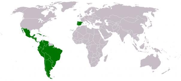 Iberoamerica-reyca-map