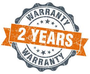 2 years warranty 2